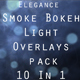 Elegant Smoke Bokeh Light Overlays 10 In 1