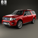Ford Expedition EL Platinum 2015 - 3DOcean Item for Sale