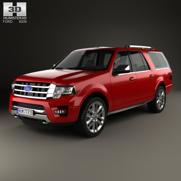 Ford Expedition EL Platinum 2015 - 3DOcean Item for Sale