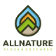 Nature and Mountain Logo