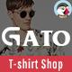 Gato - Tshirt Shop Responsive Prestashop 1.7 Theme - ThemeForest Item for Sale