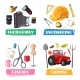 Vector Professions Tools and Items Set - GraphicRiver Item for Sale