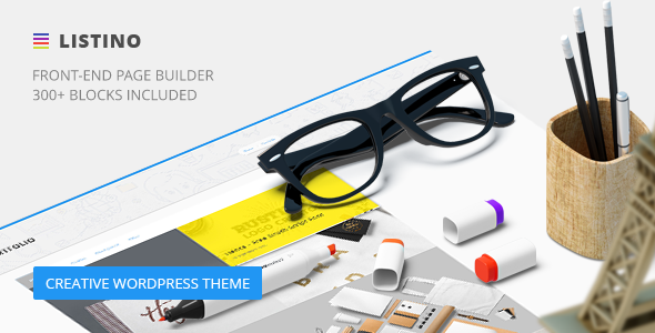 Listino - Creative Agency WordPress Theme