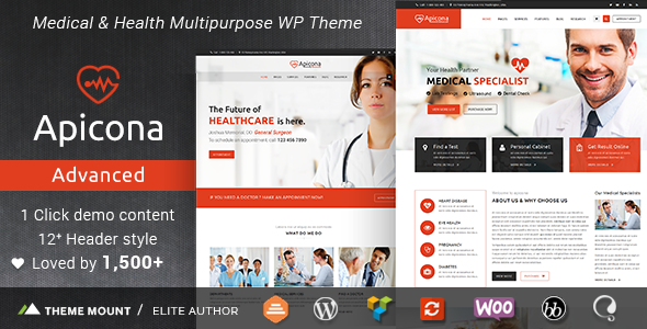25+ Best Dental Care and Dentist WordPress Themes 2019 23