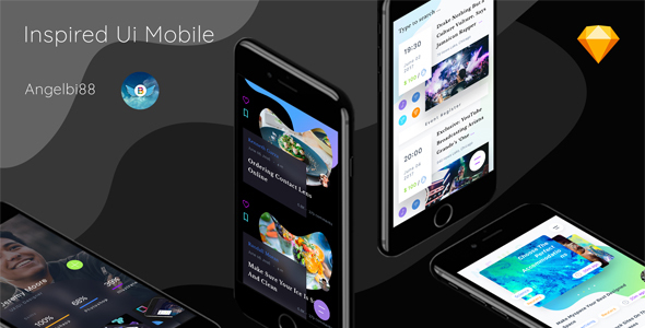 ThemeForest Inspired Ui Mobile Part 1 20405227