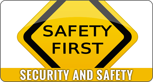 Security and Safety - Flat Animated Icons and Elements