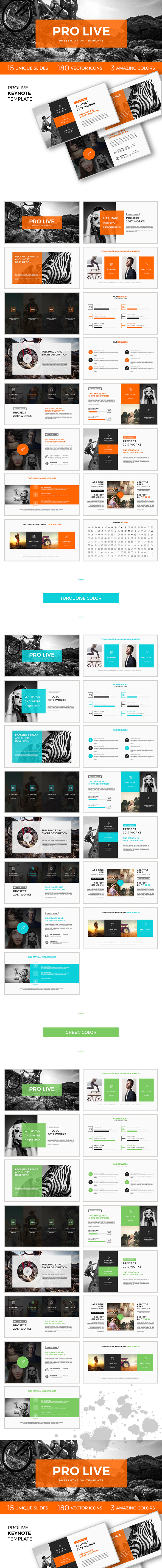 GraphicRiver Pro Live Keynote Template 20405244