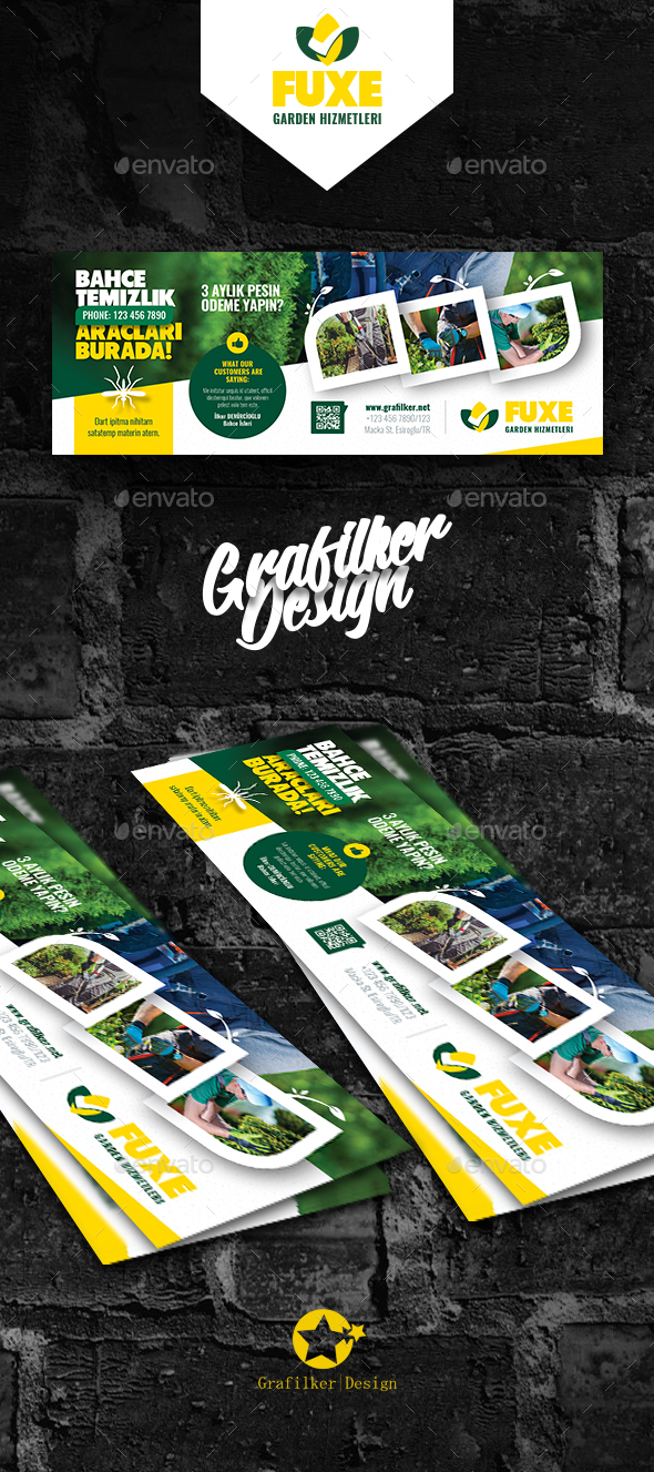 Garden Landscape Cover Templates