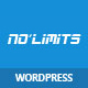 NoLimits | One Page Bootstrap Responsive WordPress - ThemeForest Item for Sale
