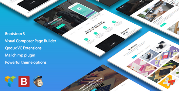 Minutes - Startup Landing Page Bootstrap WP Theme - Marketing Corporate