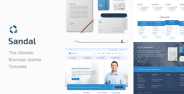 Sandal - Ultimate Business Responsive Joomla Template