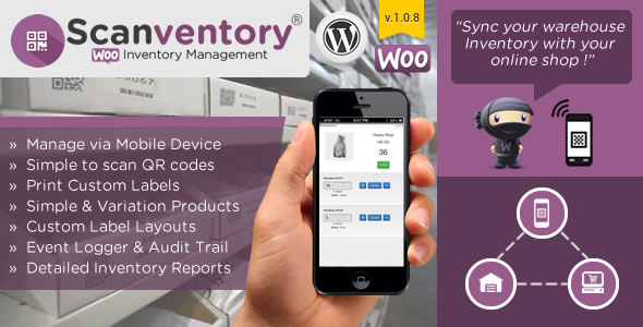 Woocommerce Mobile Inventory Management - CodeCanyon Item for Sale