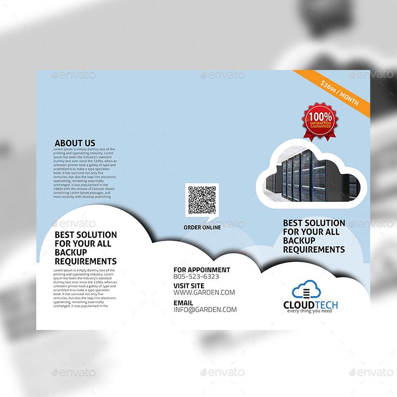Cloud Services TriFold Design