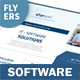 Software Business Flyers – 4 Options