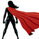 Super Heroine Back - GraphicRiver Item for Sale