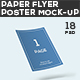 Paper Flyer and Poster Mock-up - GraphicRiver Item for Sale