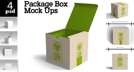 Package & Box mock ups