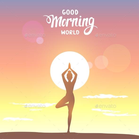 Sunrise Asana - Miscellaneous Vectors