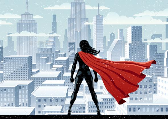 GraphicRiver Super Heroine Watch 20406307