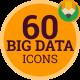 Information Big Data Web Analytics - Flat Animated Icons and Elements