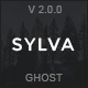 Sylva - Responsive Minimal Ghost Theme - ThemeForest Item for Sale