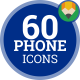 Phone Mobile Smartphone - Flat Animated Icons and Elements