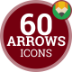 Arrow Direction Pointer - Flat Animated Icons and Elements