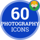 Photo Video Camera - Flat Animated Icons and Elements