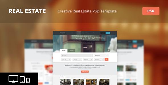Real Estate - Creative HTML Template