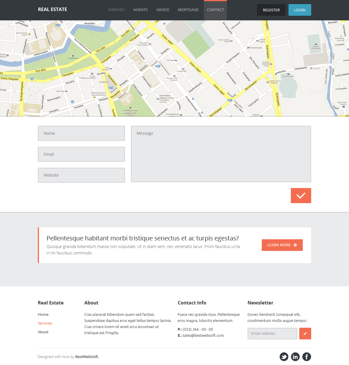 Real Estate Website HTML Template