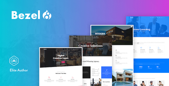 Image of Bezel - Creative Multi-Purpose Drupal 8.4 Theme