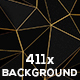 Abstract Polygonal Wireframe Backgrounds Bundle