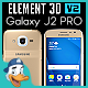 Samsung Galaxy J2 PRO for Element 3D