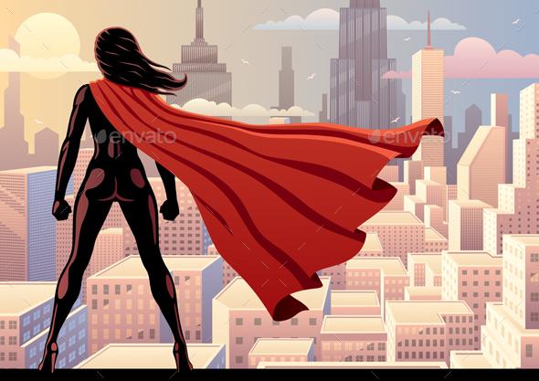 Super Heroine Watch 2 - Miscellaneous Conceptual