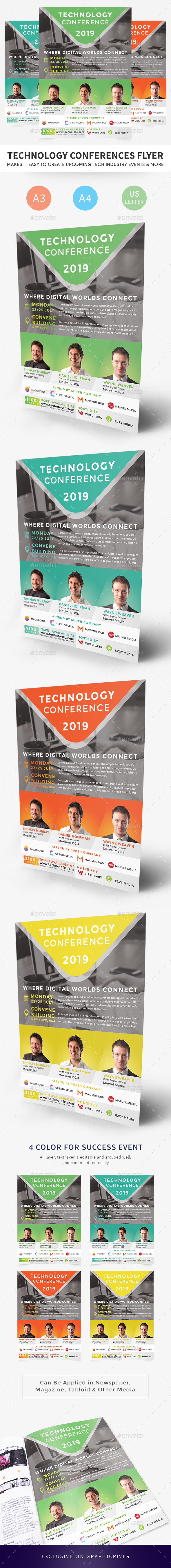 Technology Conferences Flyer - Corporate Flyers