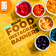 50 Food Instagram Banners - GraphicRiver Item for Sale