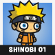 Yellow Hair Shinobi (Naruto) - GraphicRiver Item for Sale