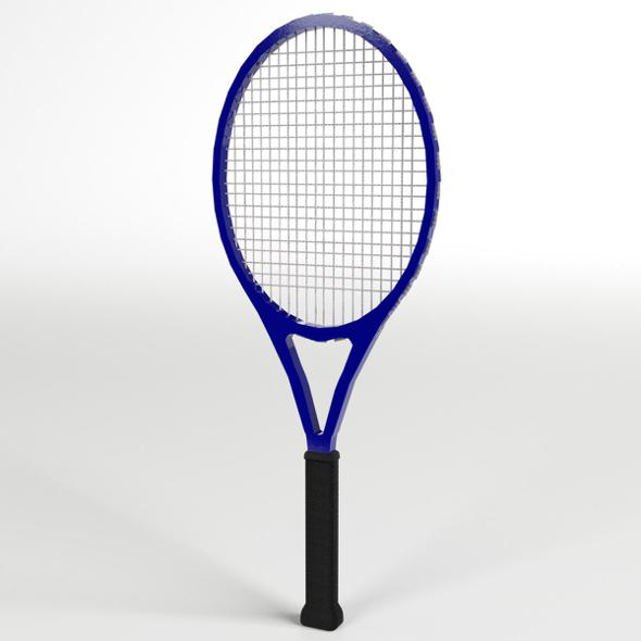 Tennis Racket - 3DOcean Item for Sale