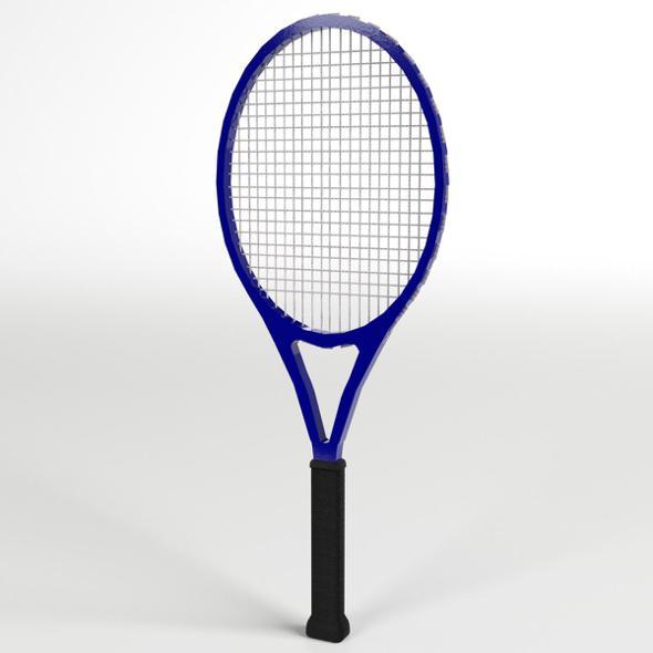 Tennis Racket - 3DOcean Item for Sale