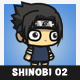 Shinobi 02 (Uchica Sasuke) - GraphicRiver Item for Sale
