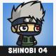 White Hair Shinobi (Kakashi Hatake)