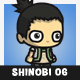 Pigtail Shinobi Guy (Nara Shikamaru) - GraphicRiver Item for Sale
