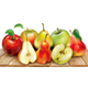 Apples and Pears on a Wooden Surface - GraphicRiver Item for Sale