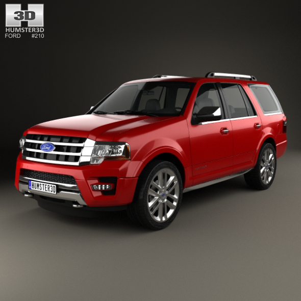 Ford Expedition Platinum 2015 - 3DOcean Item for Sale