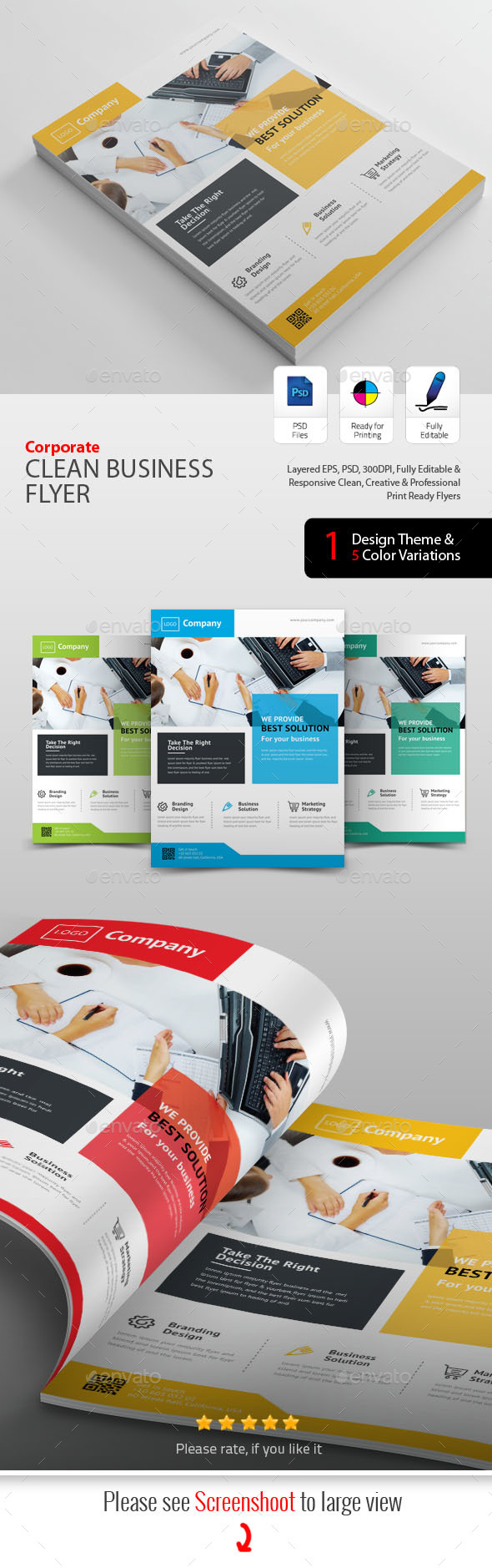 GraphicRiver Business Flyers 20408084