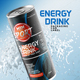 Energy Drink Packaging Can Label - GraphicRiver Item for Sale