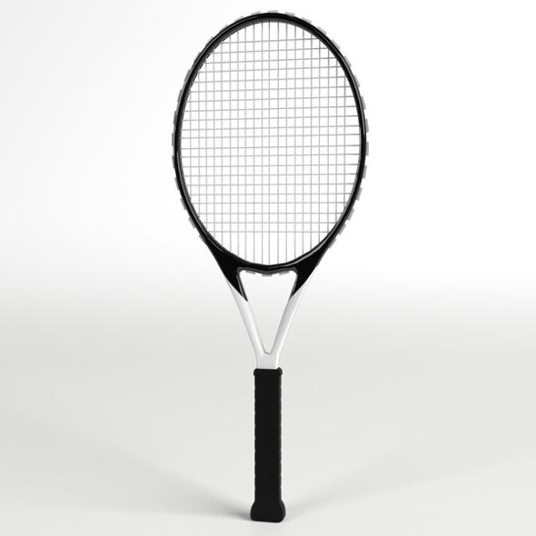 Tennis Racket 2 - 3DOcean Item for Sale