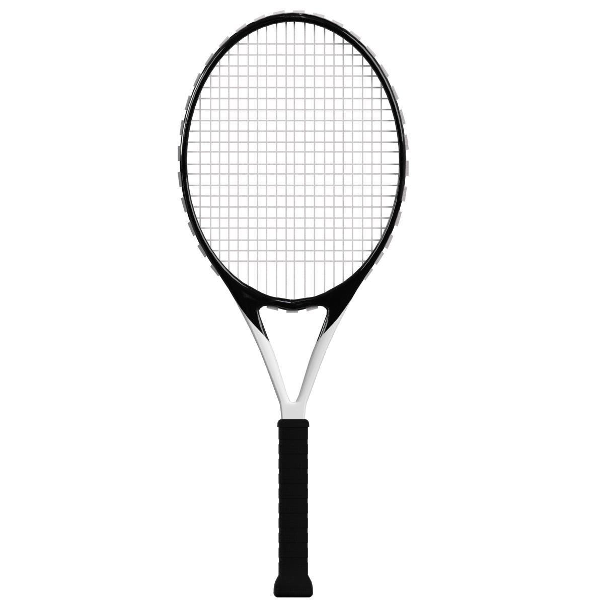 Tennis Racket 2 By Francescomilanese 3docean