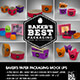 Baker's Paper Packaging MockUps - GraphicRiver Item for Sale