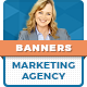 Marketing Agency Banners - GraphicRiver Item for Sale